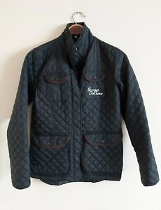 Women`s Black Quilted Jacket. Stand & Deliver Women`s Quilted Jacket, Coat