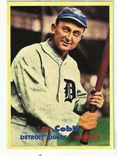 TY COBB 1957 STYLE VERY COOL CUSTOM MADE ART CARD