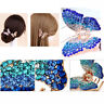 Butterfly Claw Women Girl Rhinestone Crystal Hair Clip Clamp Jaw Hairpin Jewelry