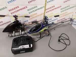 Bundle 2 x RC Model Helicopters & ESky Simulator FMS - inc Align T-Rex 450SE V2