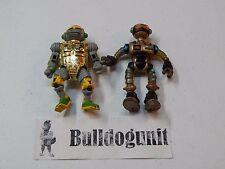 Metalhead & Fugitoid Teenage Mutant Ninja Turtles Figure Lot 1989 1990 TMNT