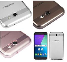 For Samsung Galaxy J3 EMERGE /J3 (2017) Transparent Clear TPU Silicone Skin Case