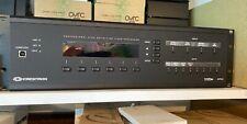 Crestron Hd Video Processor Dvphd Quad w/ Dhdc-Rgbo-R Output. cards Installed