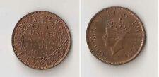 INDIA, British 1/4 anna 1941 C UNC!!!
