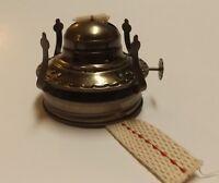 MASON JAR #2 OIL LAMP BURNER ANTIQUE FINISH WITH WICK NEW 70604J