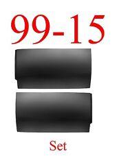 99 15 Rear Door Skin Set, Lower Bottoms, Super Duty Extended Cab Truck L&R Pair