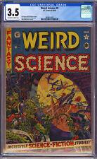 WEIRD SCIENCE #9 CGC 3.5 EC Comics 1951 Classic UFO Cover *PRE-CODE*
