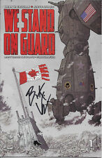 We Stand On Guard complete set 1st print signed by writer Brian K. Vaughan, Saga