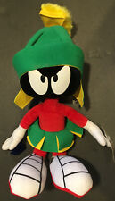 "Warner Brothers Looney Tunes Marvin the Martian 14"" Plush Stuffed Doll New Mint"