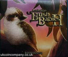 More details for 2012 australia 1/2 ounce silver proof bush babies ii  kookaburra coin