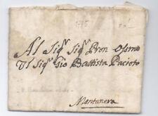 Prefilatelica prephilatelic 1795 Montanera