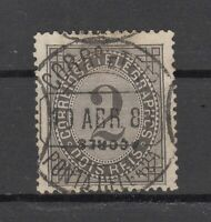 W4479/ PORTUGUESE AZORES – Y&T # 51B USED – INVERTED OVERPRINT