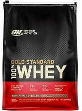 Optimum Nutrition ON 100% Whey Protein Gold Standard Extreme Milk Chocolate 10lb