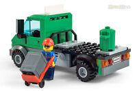 LEGO® City LKW Cargo Müllmann Laster aus 60052-1 mit Anleitung Green Lorry Truck