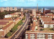 AK, Frankfurt Oder, Blick vom Hochhaus in die Karl-Marx-Str., 1983