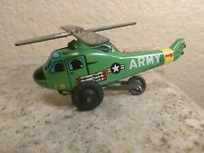 Vintage Tin Friction Military Toy Japan