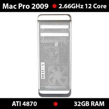 Mac Pro 2.66Ghz 12-Core    32GB RAM   2TB HDD    nVidia G120   1 Year Warranty