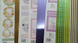 CUTE CAT BUMPER BARGAIN CARD MAKING PACK - CREAM AGES