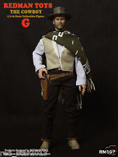 RedMan Toys 1/6 The Good Cowboy Brandy Clint Eastwood Pose-able Action Figure