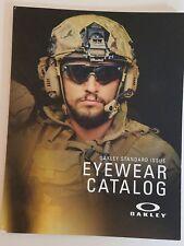 Oakley Standard Issue EYEWEAR Catalog 2015 NEW 47 Pages