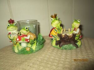 2 Yankee Candle  holder 2011 Frogs