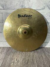 "More details for meinl headliner brass splash 10""/25cm splash cymbal / drum accessory"