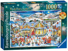 New! 19773 Ravensburger Which One's Santa? Christmas Ltd Edition Jigsaw 1000pc