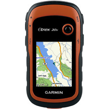 Handheld GPS Unit Garmin eTrex 20x Outdoor with TopoActive Western Europe Maps