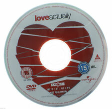 Love Actually DVD R2 PAL - Movie 2004 Liam Neson Martine McCutcheon DISC ONLY
