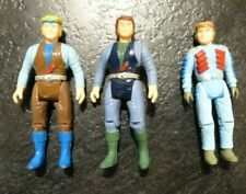 Vintage Dino Riders tyco 1987 x 3 Figures Sky Yungstar Turret