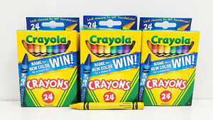 3pk 24ct Crayola Crayons w/Retired Dandelion Color Kids Back-to-School Art