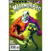 Metamorpho: Year One #4 in Very Fine + condition. DC comics [*f0]