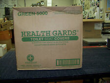 Health Gards Toilet Seat Covers 20 Sleeves of 250 Ea. # Green-5000