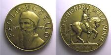 *TRIU* PRATOVECCHIO- AREZZO MEDAGLIA1975 V centenario Paolo Uccello inc. Paccini
