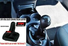 KIA PICANTO GEAR GAITER BLACK GENUINE LEATHER