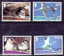 Ascension Islands WWF  Red Billed Bird mint NH (code6)