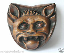 Demon Mythical Creature Medieval Carving Oak Hand Made Unique Gothic Church Gift
