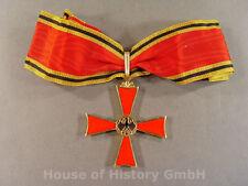 Bundesverdienstkreuz, Halskreuz, an konfektionierten Halsband, emailliert, 04756