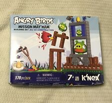 K'NEX Angry Birds Building Set Mission May'Ham Most Unopened