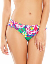 Lepel Swim Le157169 Sun Kiss Frill Bikini Brief in Pink Multi 14