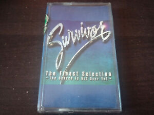 SURVIVOR - The Finest Selection (The Search Is Over) CASSETTE TAPE