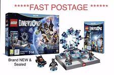 Wii U Lego dimensiones Starter Pack Caja Sellada Nuevo 71174 Game Pack Nintendo