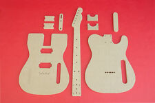 """Telecaster Router Template Set with Dual (2) Humbuckers PAF 1/2"""" Thick MDF"""