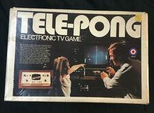 Telepong Elektronische TV Spiel Von Entex IN Karton