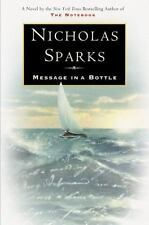 "Message in a Bottle by Nicholas Sparks:  ""FIRST PRINTING  (1998, Hardcover)"