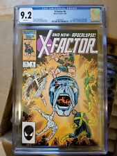 X-Factor #6 - First full appearance of Apocalypse! - CGC 9.2