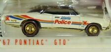 Hot Wheels '67 Pontiac GTO Cop Rods Atlanta Police Department Real Rider Tires