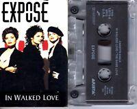 Expose In Walked Love 1994 Cassette Tape Single Pop Dance Rock