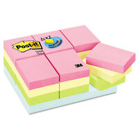 Post-it Notes Original Pads In Marseille Colors Value Pack 1 1/2x2 100/pad