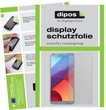 2x LG G6 Plus Film de protection d'écran protecteur antireflet dipos